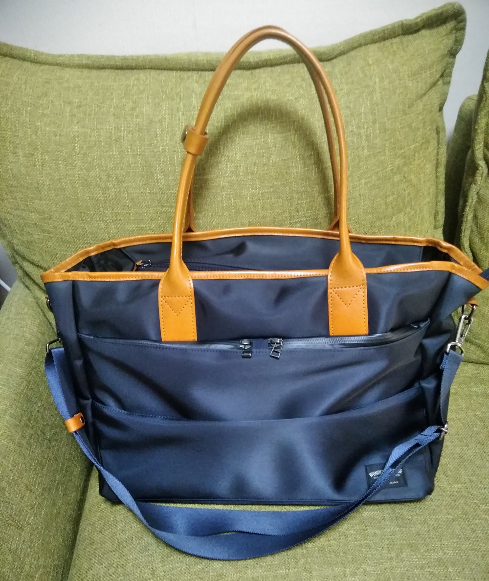 WONDER BAGGAGE GOODMANS TOTE WR 中古