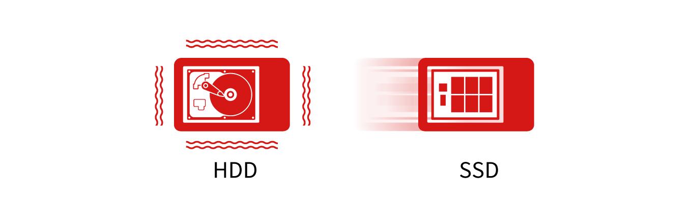 SSDとHDD違い
