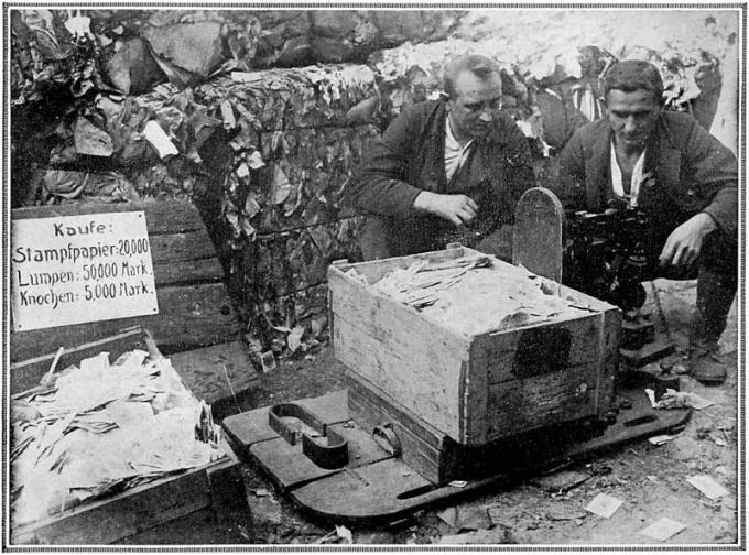 戦後ドイツのハイパーインフレ